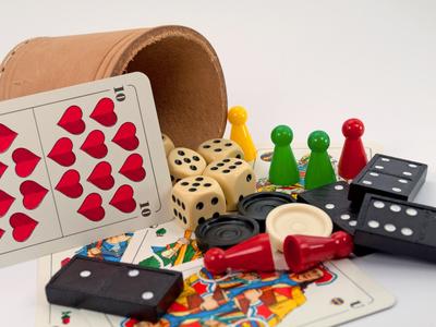Gesellschaftsspiele Spielen