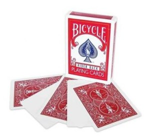 Leere Spielkarten