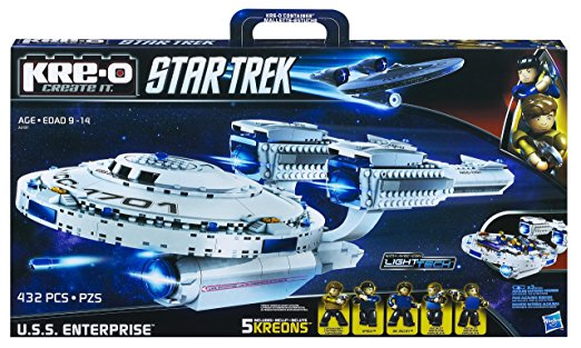 Hasbro KRE-O Star Trek U.S.S. Enterprise Construction Set