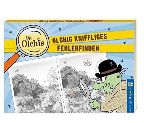 Oetinger Verlag Olchig kniffliges Fehler finden