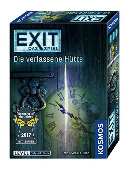 Kosmos Exit, Das Spiel - Die verlassene Hütte