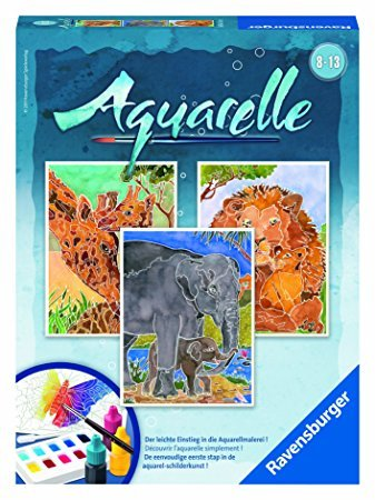Ravensburger Aquarelle Midi Safari
