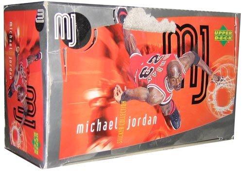 Upper Deck Michael Jordan Sticker 1-100