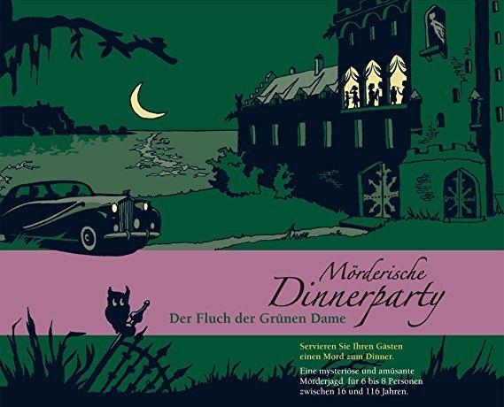 Blaubart Verlag Mörderische Dinnerparty - Der Fluch der Grünen Dame