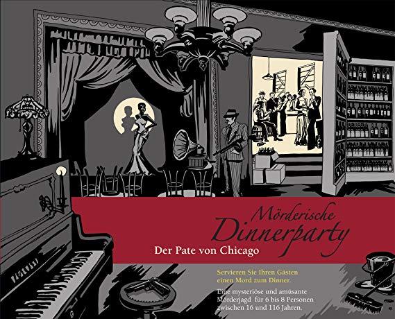 Blaubart Verlag Mörderische Dinnerparty - Der Pate von Chicago