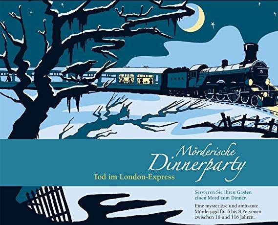 Blaubart Verlag Mörderische Dinnerparty - Tod im London Express