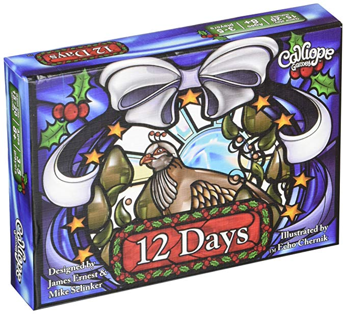 Calliope Games 12 Days Card Game