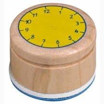 Coppenrath Verlag Stempel Lern die Uhr