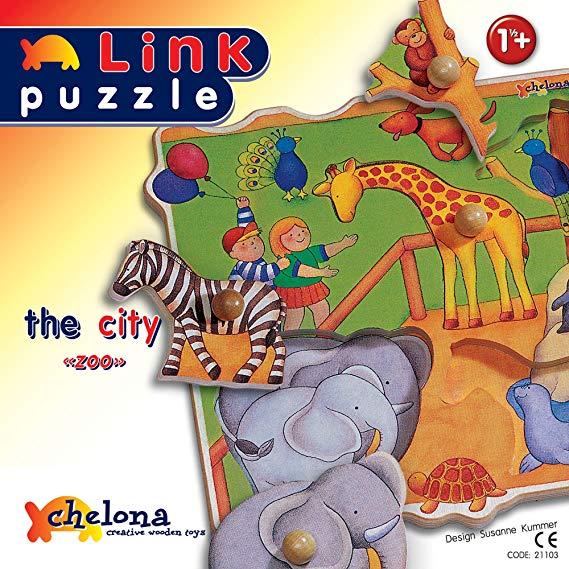 Chelona Wooden Puzzle City Puzzle 21103