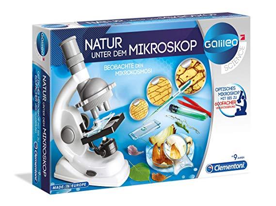 Clementoni 69804 - Natur unter dem Mikroskop