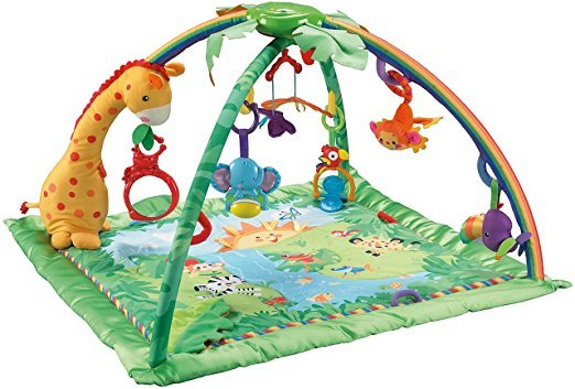 Fisher Price K4562 Rainforest Erlebnisdecke Krabbeldecke