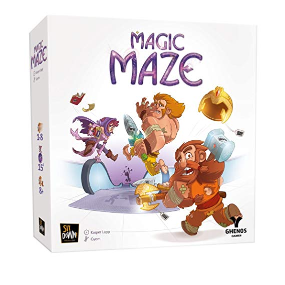 Ghenos Games ghe069 Magic Maze