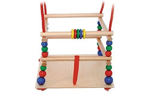 Hess Holzspielzeug 31101 - Gitterschaukel aus Holz