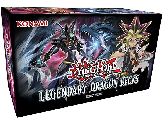 Konami Yu-Gi-Oh! Legendary Dragon Decks Standard