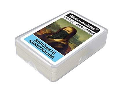Kulturmeister Berühmte Kunstraube Kartenspiel