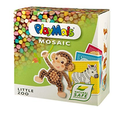PlayMais 160180 - PlayMais Mosaic Little Zoo
