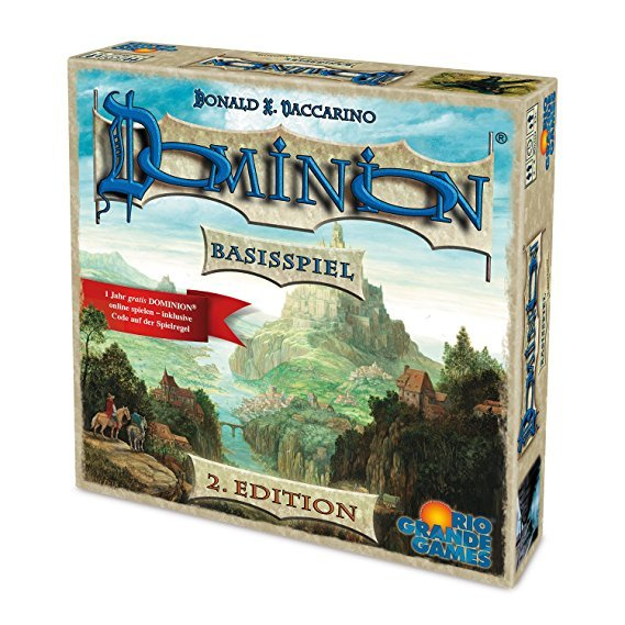 Rio Grande Games  22501413 - Dominion Basis - zweite Edition