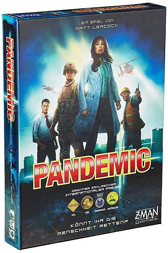 Z-Man Games  691100 Pandemie