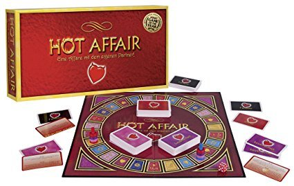 Orion 776491 Pärchen-Brettspiel 'A hot affair'