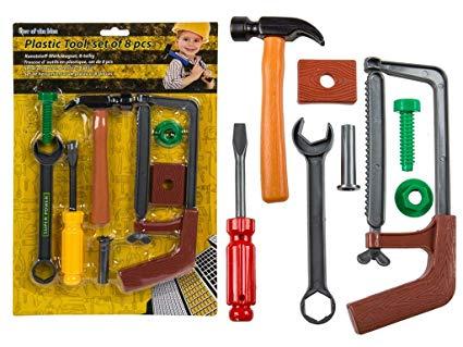 No Name Ideal Kinder Werkzeug Set aus Kunststoff