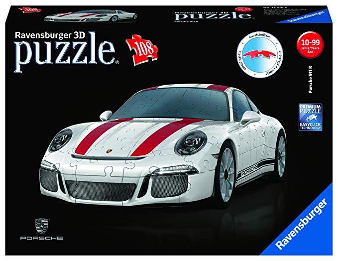 Ravensburger Erwachsenenpuzzle 12528 Porsche 911 R 3D-Puzzle