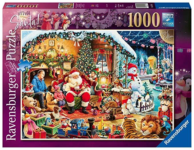 Ravensburger UK 15354 Let 's visit Santa Limited Edition 2018