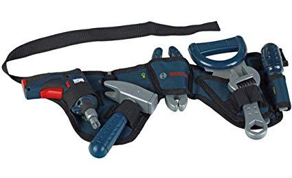 Theo Klein 8260 - Bosch Werkzeuggürtel mit Akkuschrauber