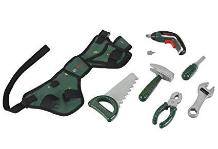 Theo Klein 8313 - Werkzeuggürtel-Set Bosch mit Ixolino II