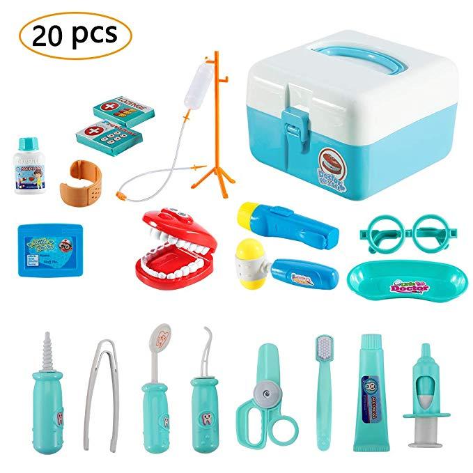 Twister.CK 20-teilige Arzt-Kit für Kinder