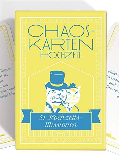 Chaoskarten Hochzeitsspiel – Das Original