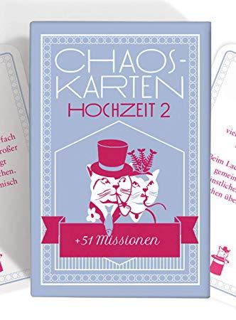 No Name Chaoskarten Hochzeitsspiel – Erweiterungsset