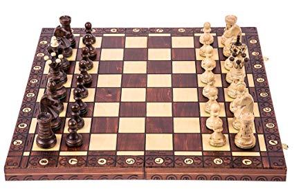 SQUARE GAME Schachspiel - AMBASADOR LUX