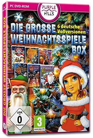 No Name Weihnachtsspiele Box