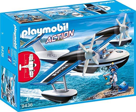 Playmobil 9436 - Polizei-Wasserflugzeug Spiel