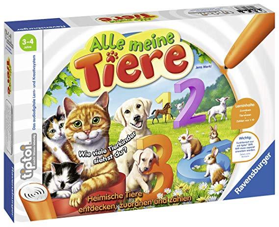 Ravensburger tiptoi 00776 - Spiel: Alle Meine Tiere