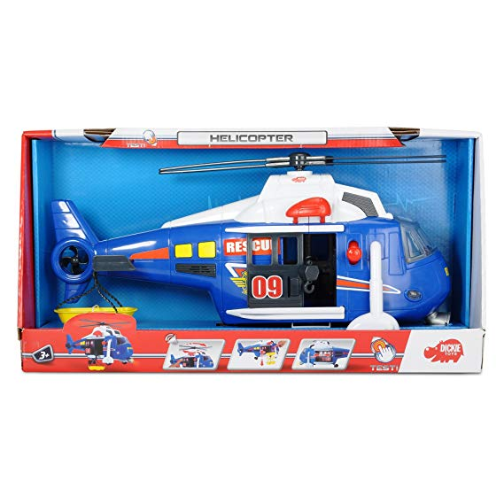 No Name Dickie Toys 203308356 - Action Series Helicopter