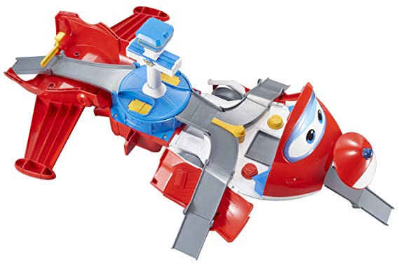 Super Wings EU720830 Jett' s Take-Off Tower Flugzeug