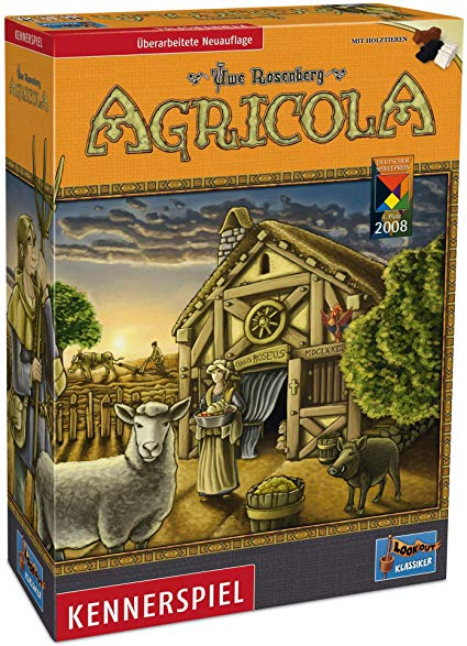 Lookout Games 22160028 - Agricola