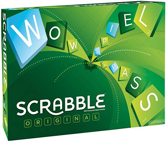 Mattel Games Y9598 - Scrabble Original