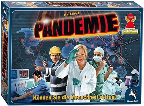 Pegasus Spiele 51325G - Pandemie