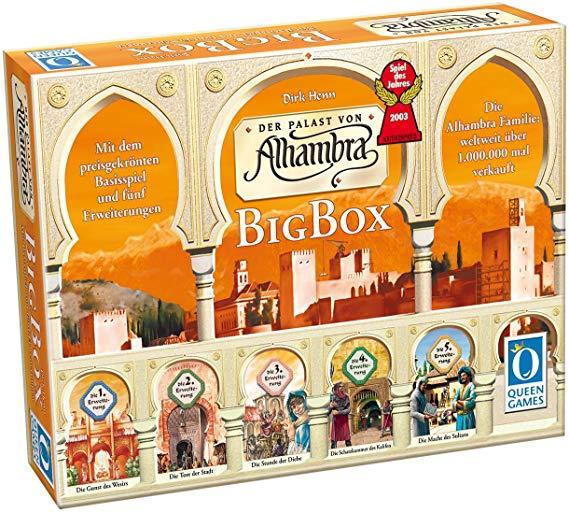 Queen Games 6037 - Alhambra-Big Box