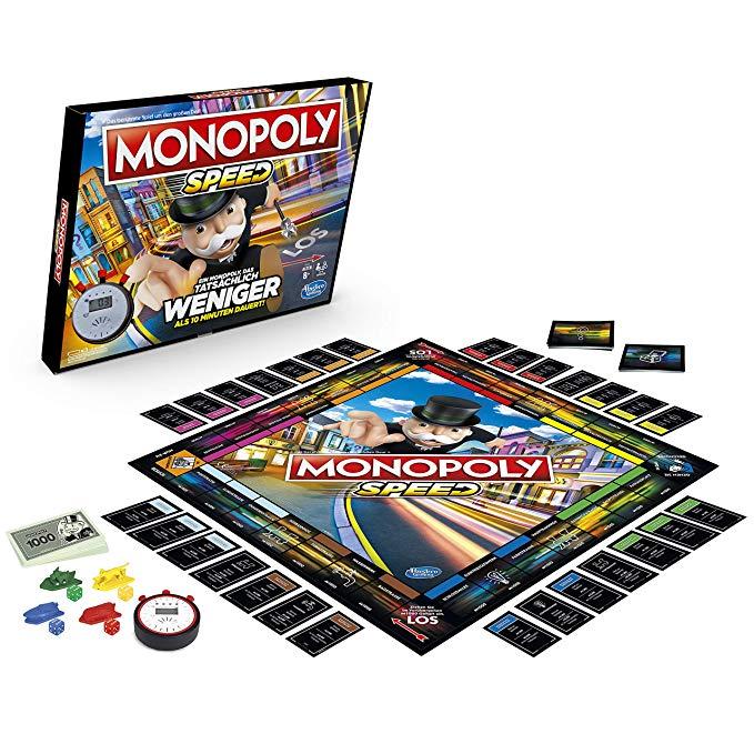 Hasbro Monopoly Speed Brettspiel