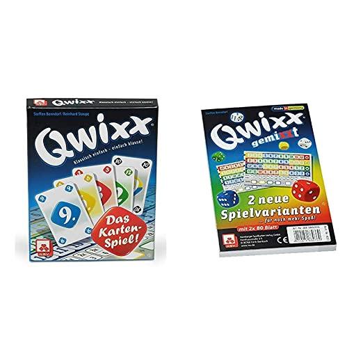 NSV - 4027 - QWIXX Das Kartenspiel - Kartenspiel & 4033