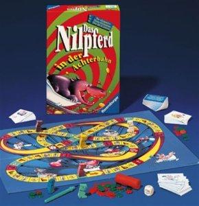 Nilpferd in der Achterbahn Gesellschaftsspiele