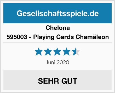 Chelona 595003 - Playing Cards Chamäleon Test