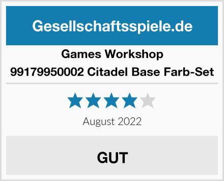 Games Workshop 99179950002 Citadel Base Farb-Set Test