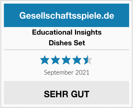 Educational Insights Dishes Set Test