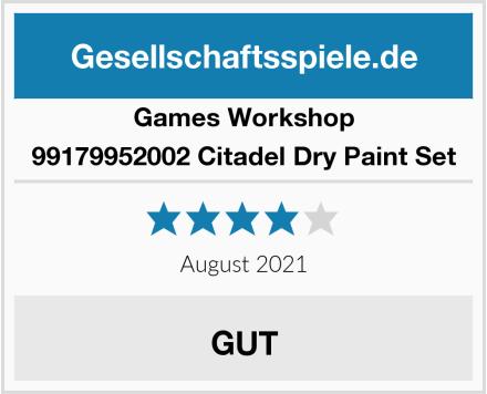 Games Workshop 99179952002 Citadel Dry Paint Set Test