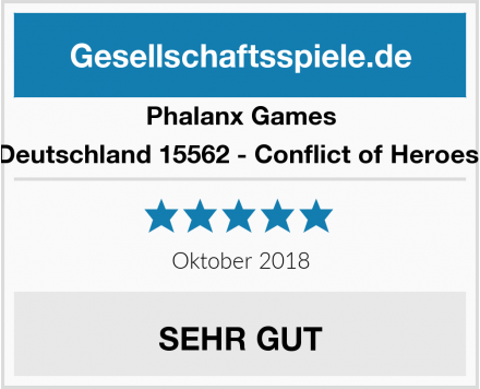 Phalanx Games Deutschland 15562 - Conflict of Heroes  Test