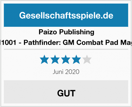 Paizo Publishing PAIM1001 - Pathfinder: GM Combat Pad Magnets Test